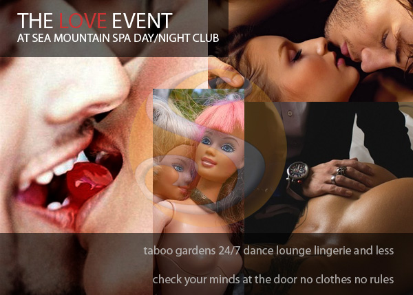 Sea Mountain Nude Lifestyles Spa Resort - Private Events